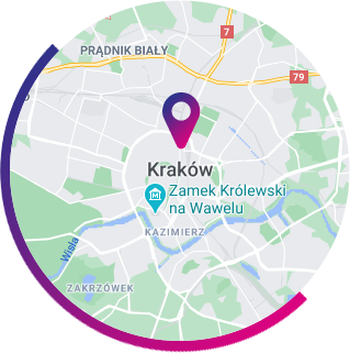 Kraków - mapa