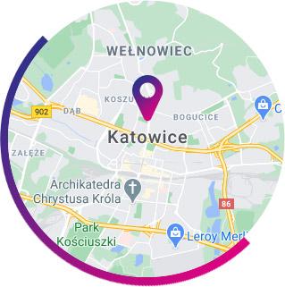 Katowice - mapa