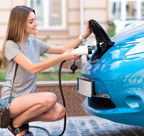 Ładowanie samochodów elektrycznego