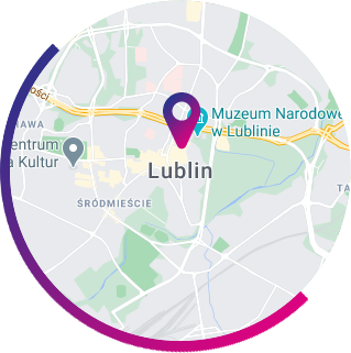Lublin - mapa