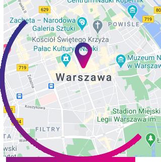 Warszawa - mapa