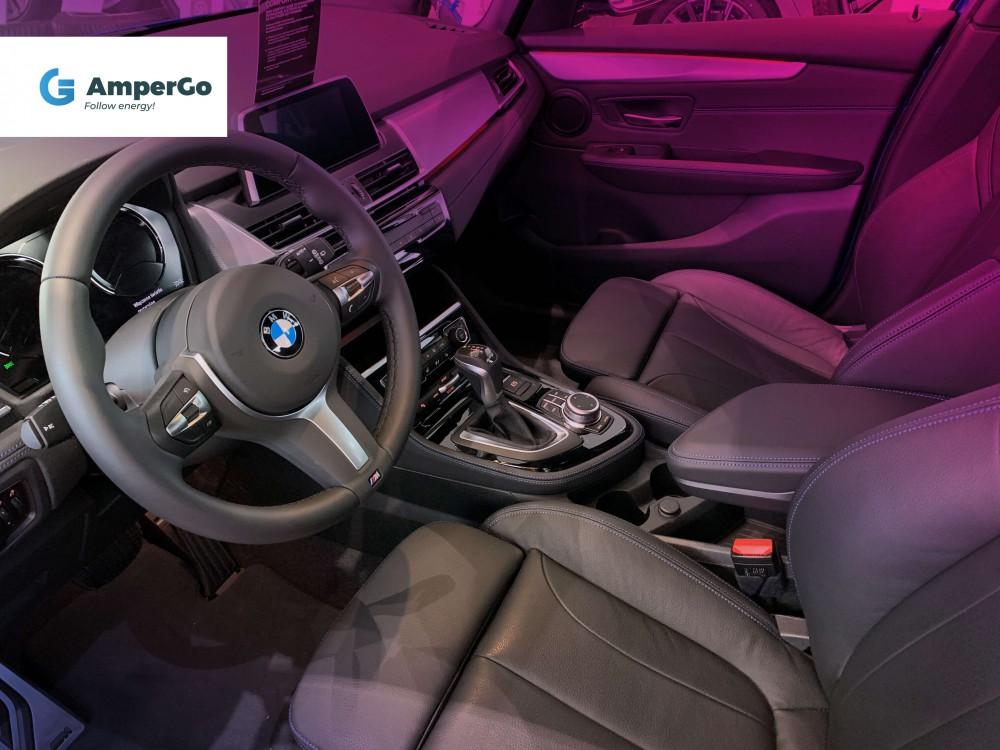 BMW 225xe Active Tourer wnętrze