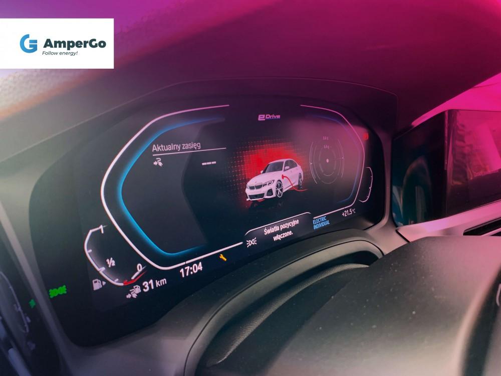 BMW 33e - panel spalania