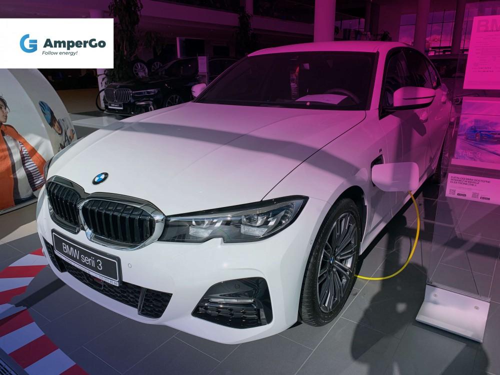 BMW 33e - samochód elektryczny