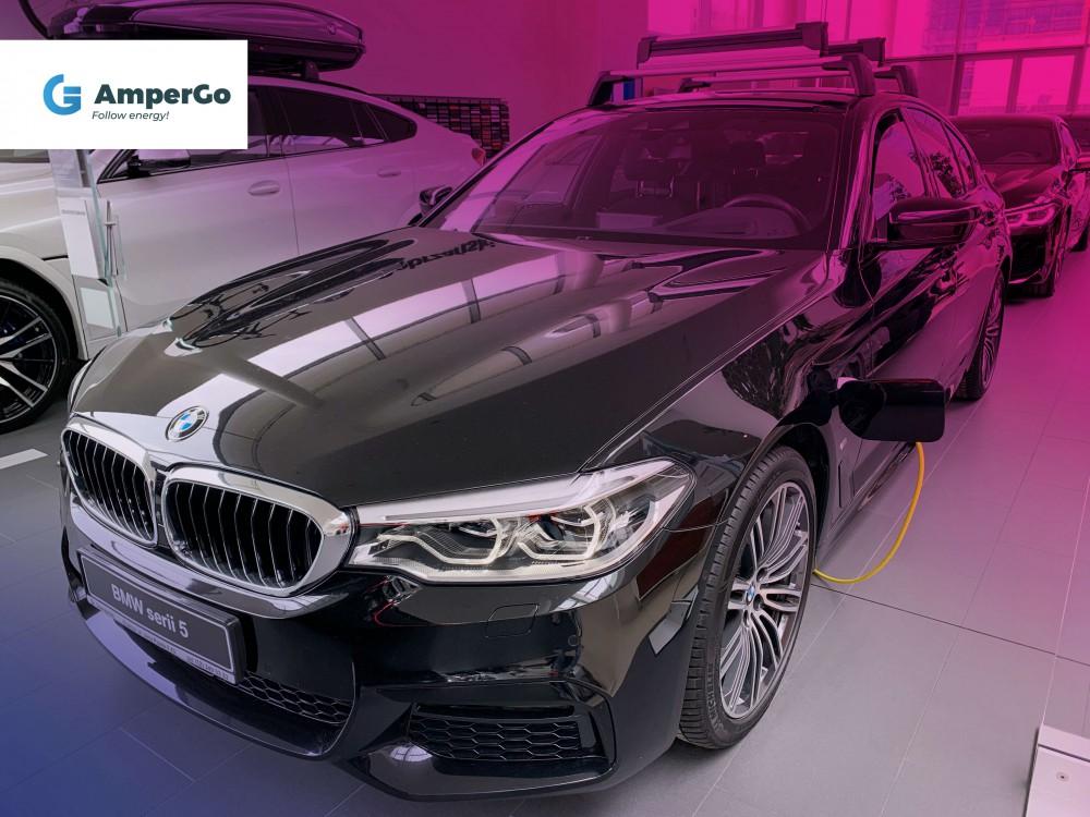samochód elektryczny BMW 530e