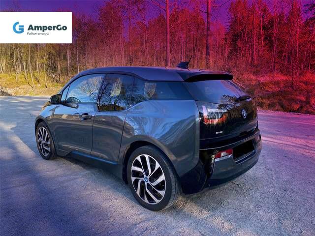 samochód elelektryczny BMW i3