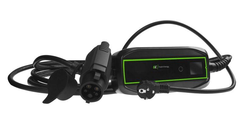 Ładowarka mobilna Green Cell EV PowerCable Type1