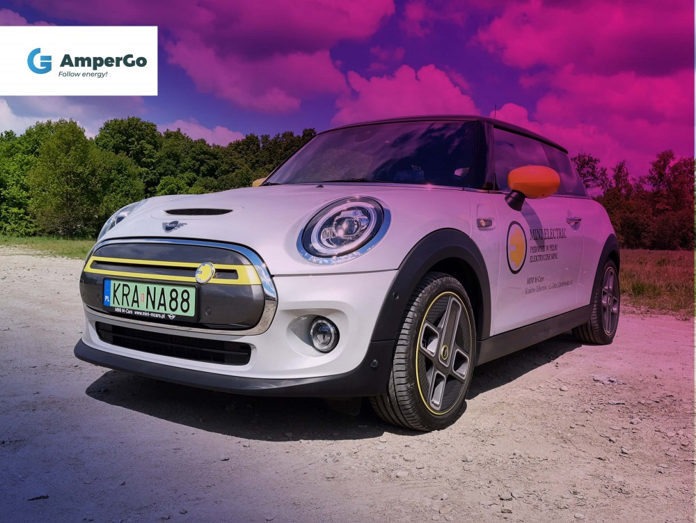 samochód elektryczny Mini Cooper SE