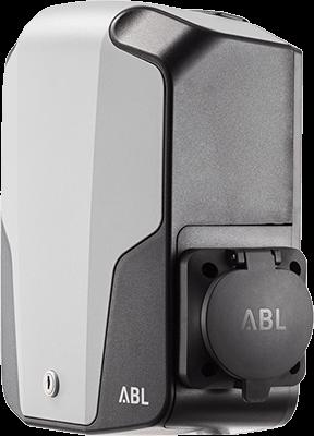 Stacja ładująca ABL Wallbox eMH1 widok z boku