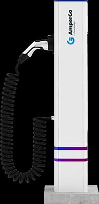 Stacja ładująca AmperGo EVA 1M AC