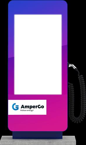 Stacja ładująca AmperGo EVA Advert AC