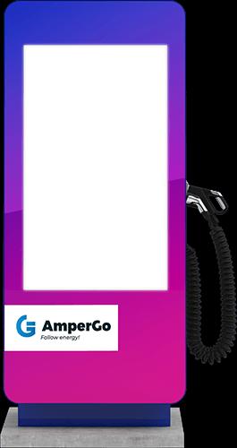 Stacja ładująca AmperGo EVA max Advert DC