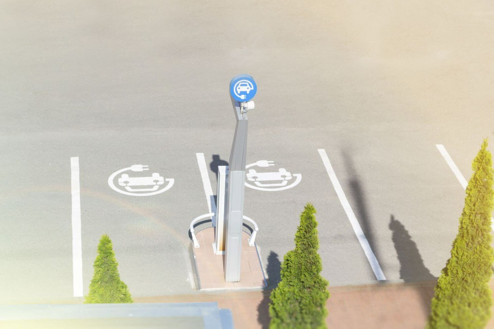 miejsca do ładowania aut elektrycznych