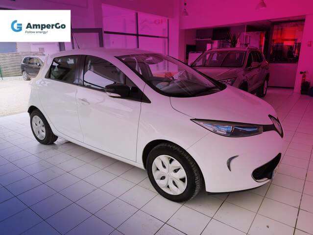 Renault Zoe samochód elektryczny