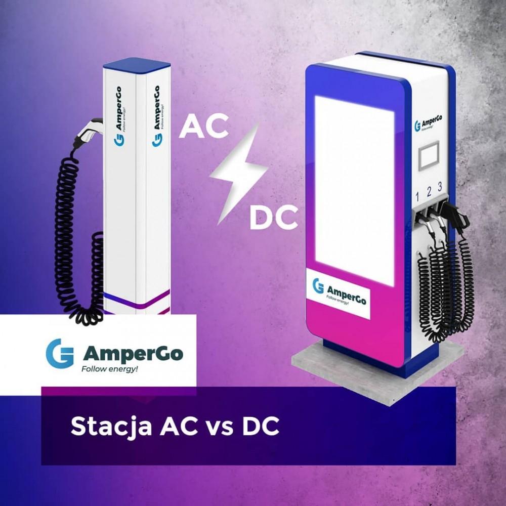 stacje ładowania AC vs DC