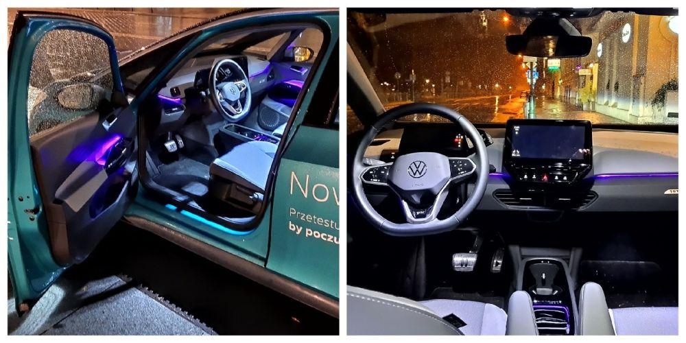 Wnętrze Volkswagena ID.3