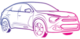 Citroen E-C4 - logo